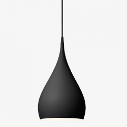 &Tradition Spinning Light Pendant BH1 Matt Black