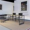 Magis Brut Rectangular Table