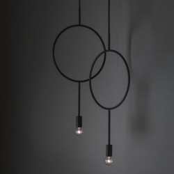 Northern Lighting Circle Pendant Lamp