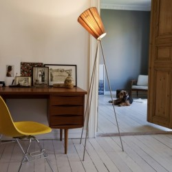 Northern Lighting Oslo Wood Floor Lamp