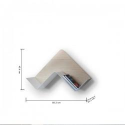 B Line Fishbone Shelf