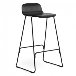 Normann Copenhagen Just Barstool with Back 75