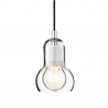 &Tradition Bulb Pendant SR1 Black cable
