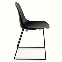 Crassevig Pola Light Chair Metal Legs Sled