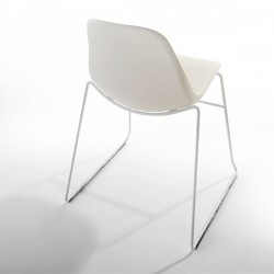 Crassevig Pola Light Chair Metal Legs Sled