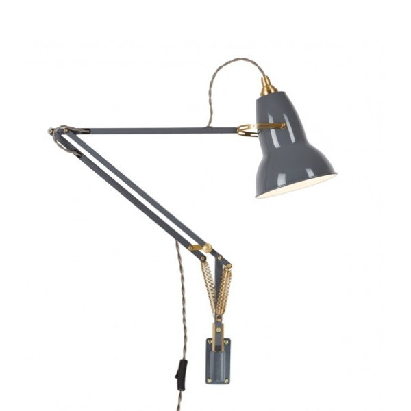 Anglepoise Original 1227 Brass Wall Mounted Lamp