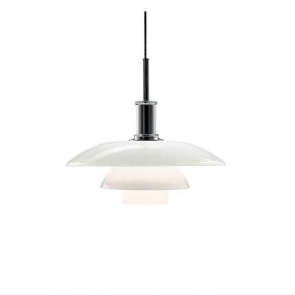 Louis Poulsen PH 4 1/2 - 4 Glass Pendant