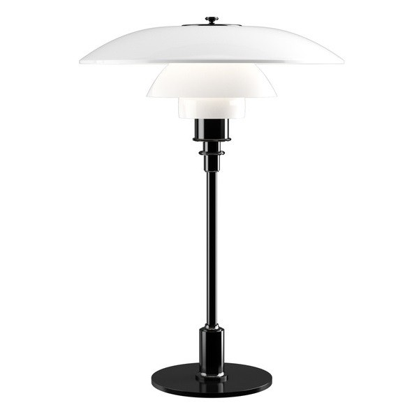 Louis Poulsen PH 3½-2½ Glass Table Lamp