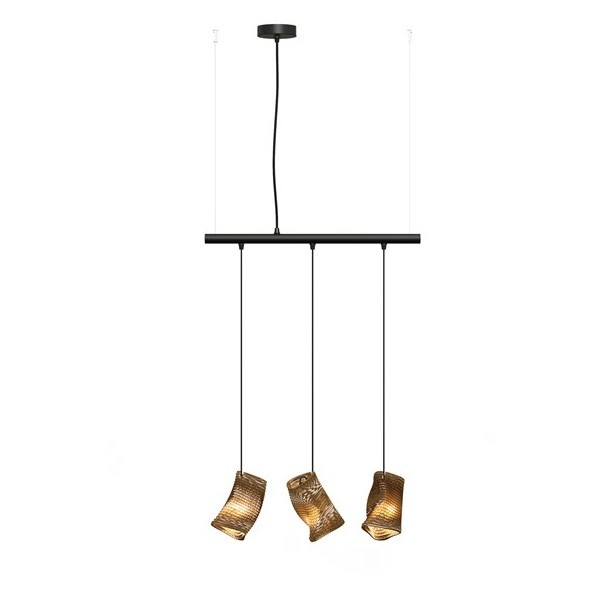 Graypants Murmurations Moa Linear 3 Pendant Lamps