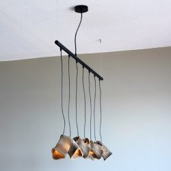 Graypants Murmurations Moa Linear 7 Pendant Lamps