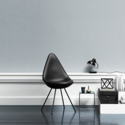 Fritz Hansen Drop Chair, Black Edition