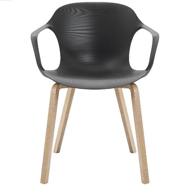 Fritz Hansen Nap Armchair Wooden Legs