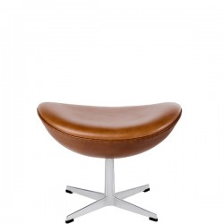 Fritz Hansen Footstool for Egg in Leather