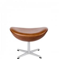 Fritz Hansen Footstool for Egg in Leather