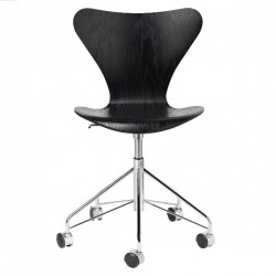 Fritz Hansen Series 7 Office Chair Colored Ash