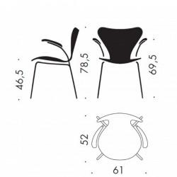 Fritz Hansen Series 7 Armchair