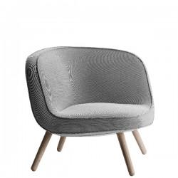 Fritz Hansen V1a 57 Lounge Chair Wooden Base