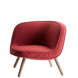 Fritz Hansen Via 57 Lounge Chair Wooden Base