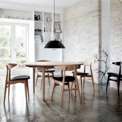Carl Hansen & Søn CH33 Chair Leather