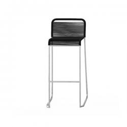 Lapalma Aria Stool Cord Seat Black