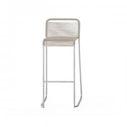 Lapalma Aria Stool Cord Seat Linen