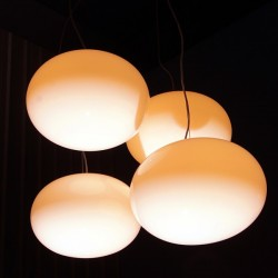 Oluce Alba Suspension Lamp 465