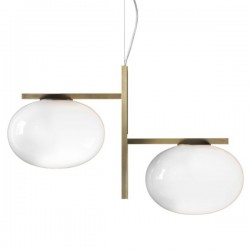 Oluce Alba Suspension Lamp 468