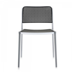 Kartell Audrey Chair Black Painted Aluminium