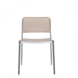 Kartell Audrey Chair Sand Painted Aluminium