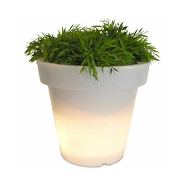 Bloom Flowerpot 40 cm White
