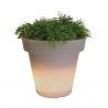 Bloom Flowerpot 40 cm Grey