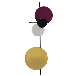 PLEASE WAIT to be SEATED Planet Wall Lamp Plum