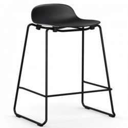 Normann Copenhagen Form Stacking Barstool Steel