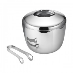Georg Jensen Sky Ice Bucket with Tongs
