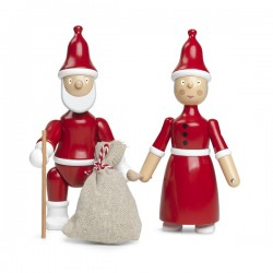 Kay Bojesen Mrs Santa Clara and Santa
