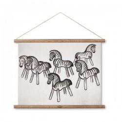 Kay Bojesen Zebras Line Drawing
