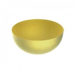 Alessi Round Basket Brass