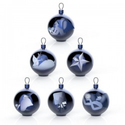 Alessi Blue Christmas Tree Ornament