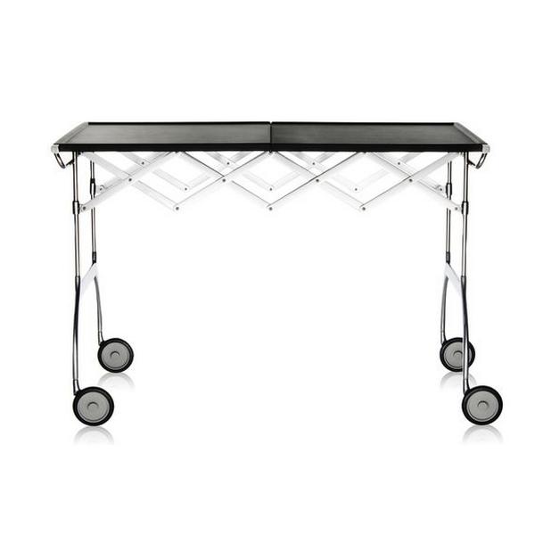 Kartell Battista Foldable Table Black