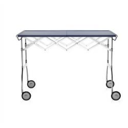 Kartell Battista Foldable Table Blue