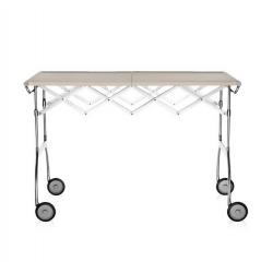 Kartell Battista Foldable Table Cream