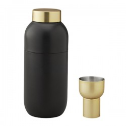 Stelton Collar Cocktail Shaker & Measuring Cup Set