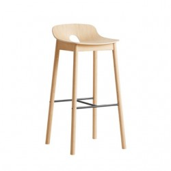Woud Mono Bar Stool
