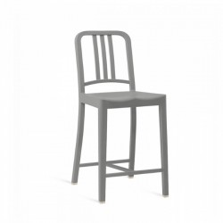 Emeco 111 Navy Counter Stool