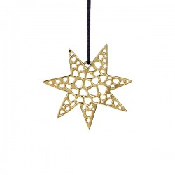 Rosendahl Gold-plated Heart Star