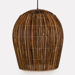 Ay Illuminate Rattan Bulb Large