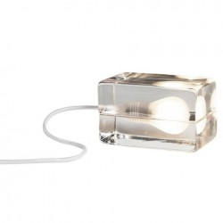 Design House Stockholm Block Lamp White cord
