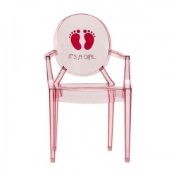 Kartell Lou Lou Ghost Chair It is a Girl