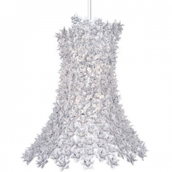 Kartell Bloom Pendant Lamp Crystal