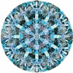 Moooi Crystal Ice Signature Carpet Round
